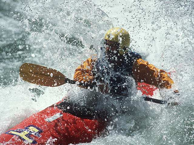 First aid courses for canoeists & raft leaders.